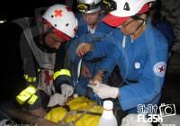 Rescate Minero Pie Atrapado por roca 01 (7-XII-2011)_Juan Carlos Bonilla G.