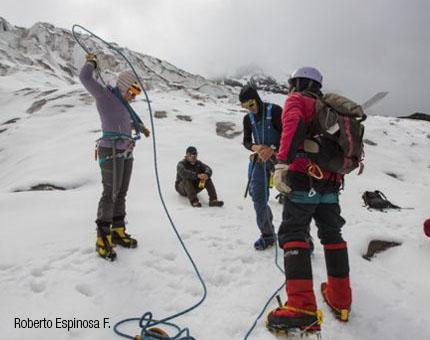 mujer montañista1